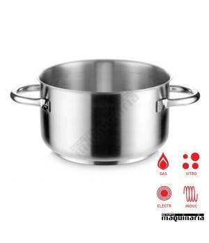 Cacerola industrial inox 99 litros alta sin tapa PU292160