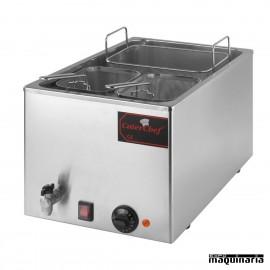 Cuece-pastas con grifo de desagüe PU15044