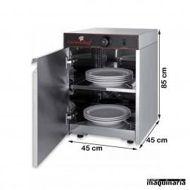 Calentador de platos PU15027 abierto