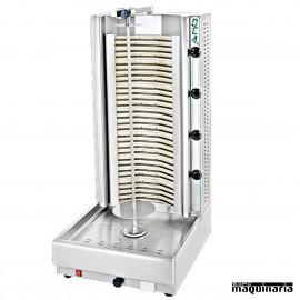 Asador de Kebab eléctrico inoxidable NTKE04