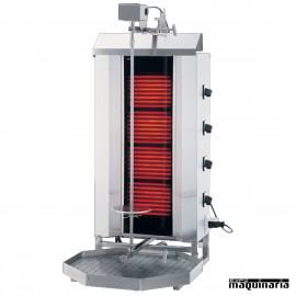Asador de carne eléctrico gran producción MAK4-Elec