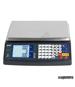 Balanza Comercial sin ticket GRXFOC-15K