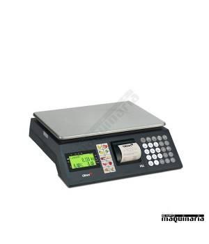 Balanza Comercial con ticket GRM4-15