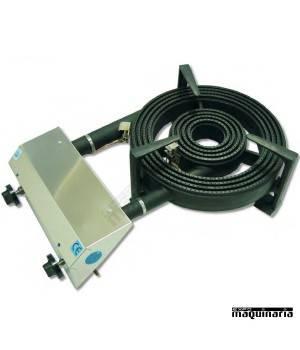 Quemador para uso interior NTP31 dos quemadores