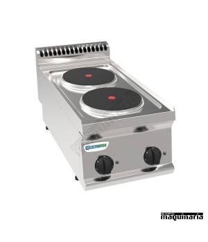 Cocina industrial electrica CLPCR35E7 con 2 quemadores