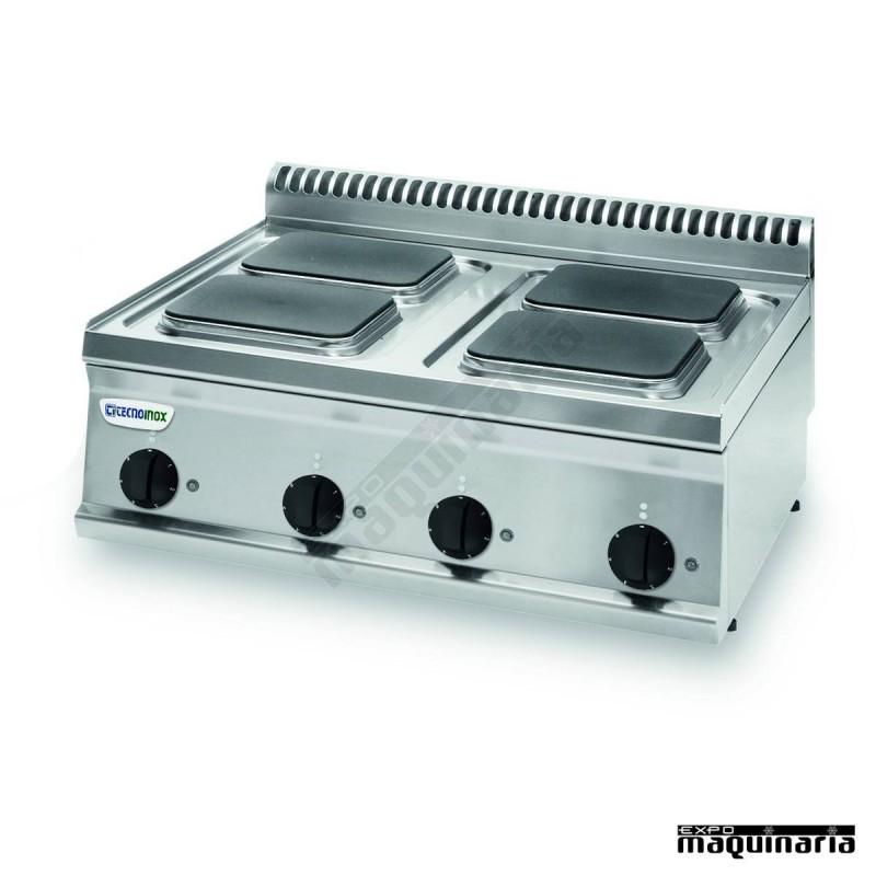 Cocina industrial electrica clpcs70e7 con 4 cuatro placas for Cocina industrial electrica