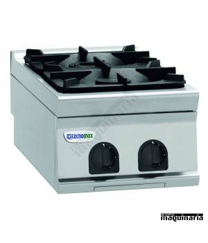 Cocina industrial a gas CLPCG4G9 dos quemadores