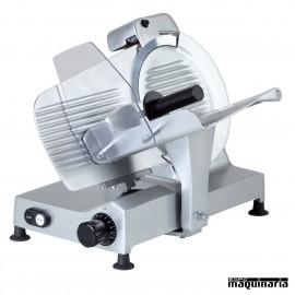 Cortadora fiambre 250 mm 150W. CLAF250GR