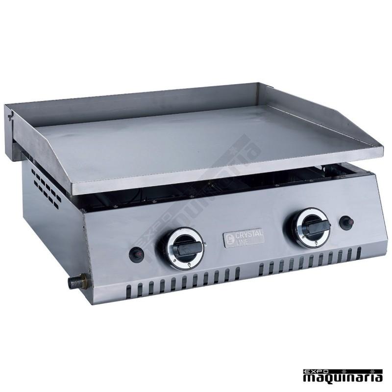Plancha a gas op line clpgar60hcl 15mm profesional de - Plancha para cocina a gas ...