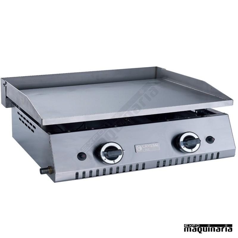 Plancha a gas op line clpgar80hcl 15mm profesional de - Plancha industrial para cocina ...