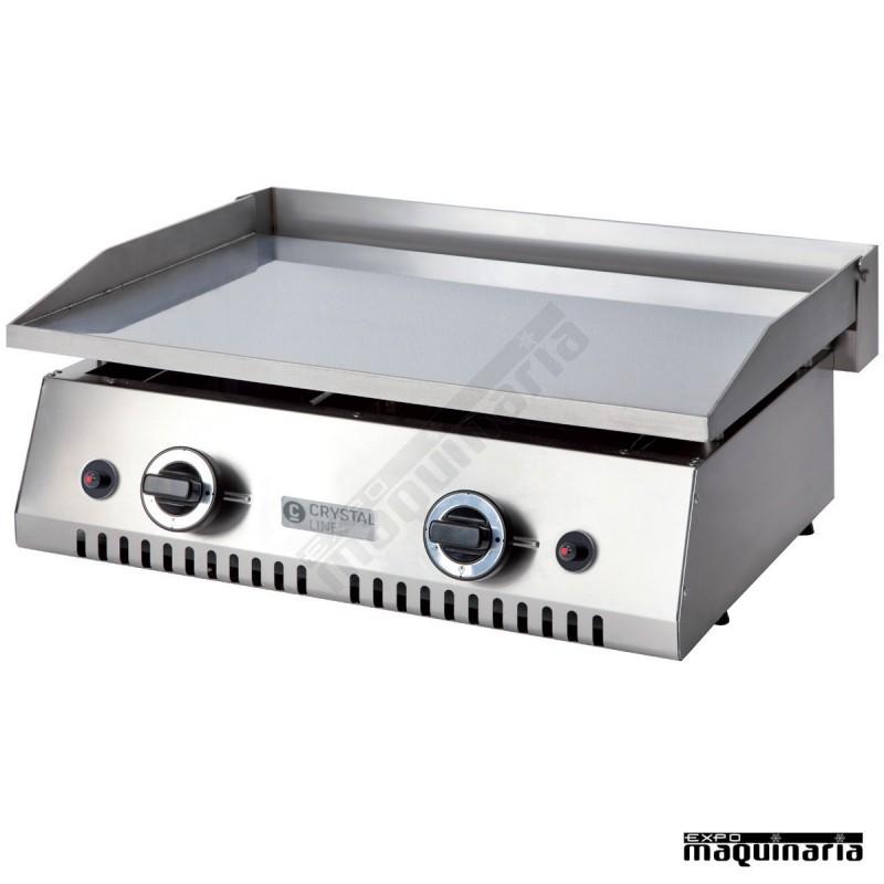 Plancha a gas clpgcd60hcl cromo duro 15mm exterior acero - Plancha para cocina de gas ...
