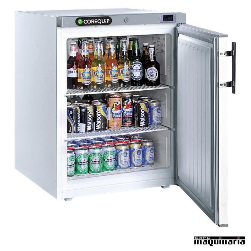 Nevera peque a refrigerador clmar185pobl exterior de acero for Neveras pequenas con congelador