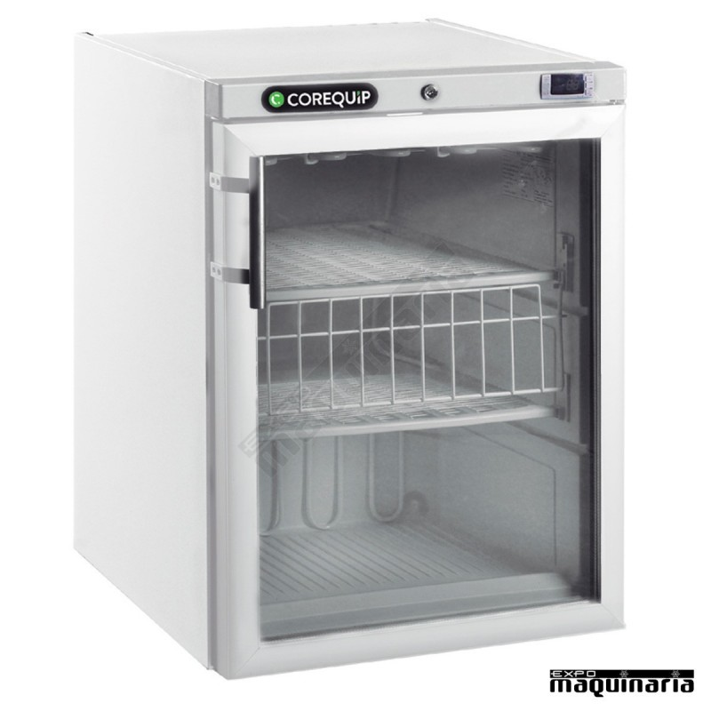 Nevera peque a congelador con puerta blanca mac185bl pvc for Congelador vertical pequeno