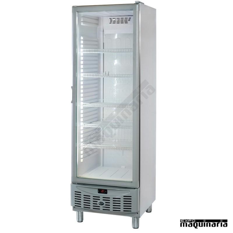 Nevera refrigerador puerta de cristal clar320apv acero inoxidable - Dimensiones de una nevera ...