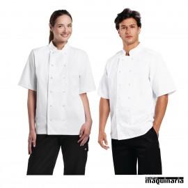 Chaqueta de cocina unisex blanca NIB250