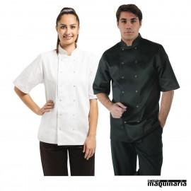 Chaqueta de cocina unisex manga corta NIA211