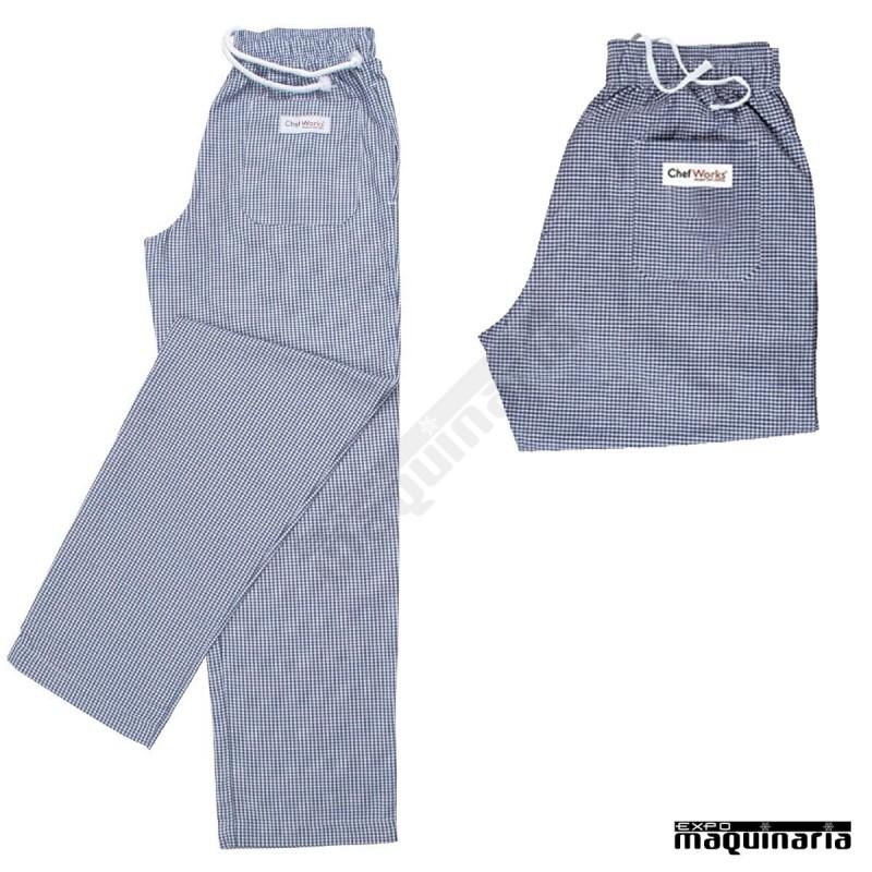Pantal n cocinero cuadros peque os nia026 unisex muy comodos - Textiles para hosteleria ...
