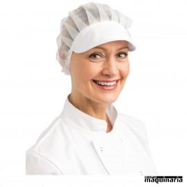 Gorra de cocina con redecilla NIB226