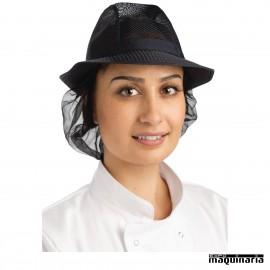 Sombrero hostelería con redecilla NIA654