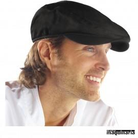 Gorra de jefe de cocina negra NIB169