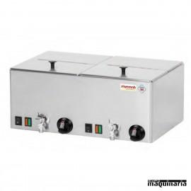 Máquina perritos calientes al vapor doble GN1/2 SVWEV11