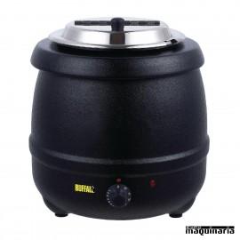 Marmita catering baño maría 10 litros NIL715 negro