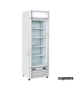 Nevera Refrigerador con Puerta de Cristal CLAR400CL color blanco