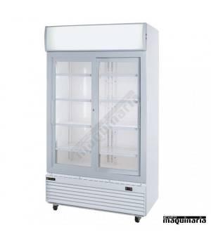 Nevera Refrigerador con Puerta de Cristal CLAR1000CL color blanco