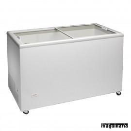Arcon Congelador 304 l. Puertas cristal correderas CLICE300CRISTAL