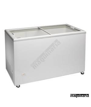 Arcon Congelador 387 l. Puertas correderas cristal CLICE400CRISTAL
