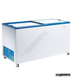 Arcón Congelador 470l. puerta cristal corredera CLICE500CRISTAL