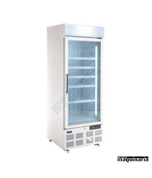 Vitrinas congeladoras 412 litros con luz LED