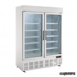 Vitrinas congeladoras doble 920 litros con luz LED