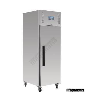 Congelador vertical industrial NIGL181 una puerta Inox 850 litros