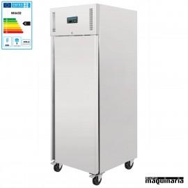 Frigorificos industriales NIU632 INOX con ruedas, 10 cubetas Gastronorm 2/1