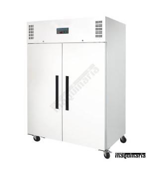 Congeladores industriales NICD616 blancos, dos puertas 1200 litros