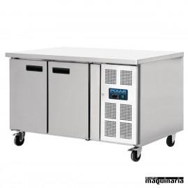 Mesas frias NIGL183 Euronorm 2 puertas con ruedas