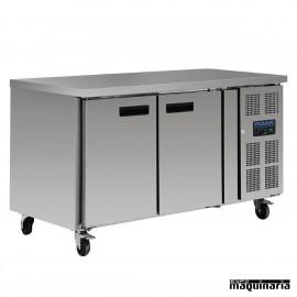 Mostrador refrigerado NIG377 con 2 puertas