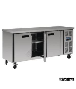 Mostrador refrigerado NIG378 3 puertas de 339 litros