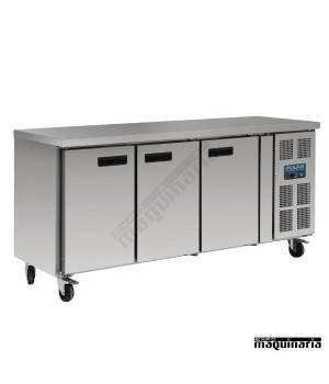 Mostrador refrigerado NIG597 3 puertas de 417 litros