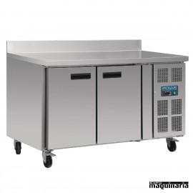 Mesa bajo mostrador congelador NIDL916 con peto 2 puertas