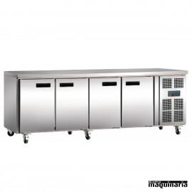 Mostrador refrigerado NIG379 4 puertas de 2,23 m