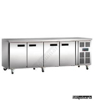 Mostrador refrigerado NIG598 4 puertas 553 ltr