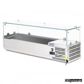 Vitrina para tapas refrigerada NIG608 5 cubetas GN 1/4