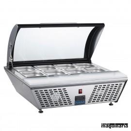 Mostrador refrigerado de preparación NIGL178
