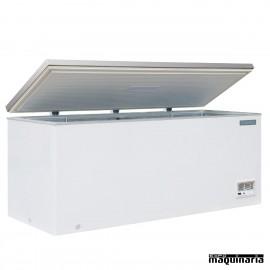 Arcon congelador NICM532 de 587 litros tapa inox