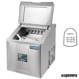 Maquina de hielo NIG620 sobremesa 15 Kg/dia