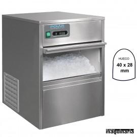 Maquina de hielo NIT316 bajo mostrador 20 Kg/dia