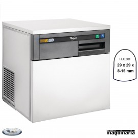 Maquina de hielo NICC612 compacta 24 Kg/dia