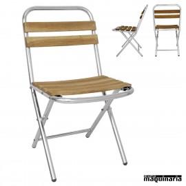Sillas aluminio terraza sillas de aluminio expomaquinaria for Sillas plegables terraza